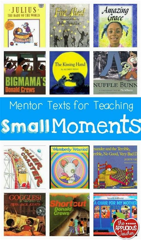 picture books to teach narrative writing small moments writing and great books on