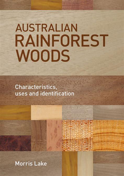woodworking books australia australian rainforest woods morris lake 9781486301799