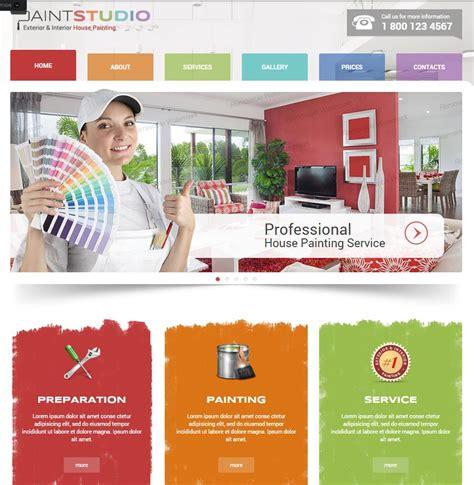 free homepage for website design contractors website templates builders websites design