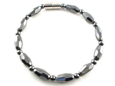 magnetic hematite hematite magnetic necklace grand marquise jr