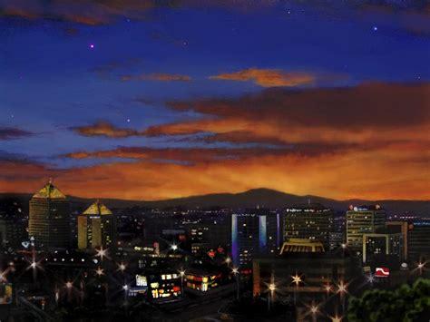 paint nite in albuquerque albuquerque new mexico skyline west at 112913