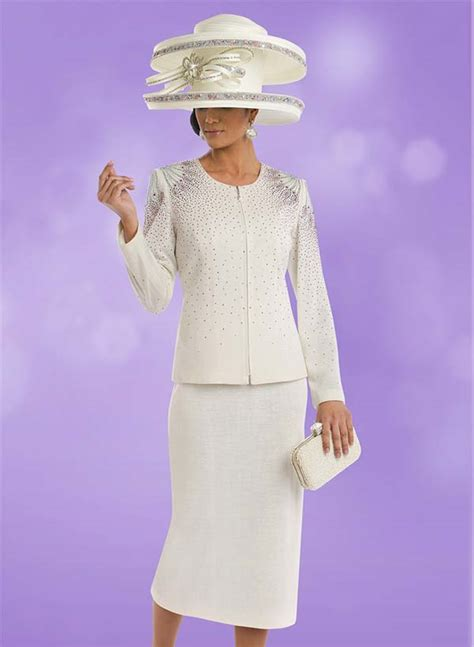 knitted suit womens knit church suit by donna vinci 13204