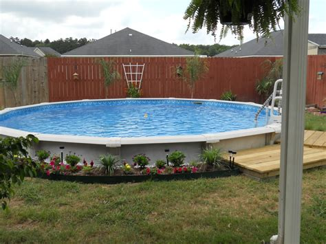 backyard pools above ground pool backyard ideas with above ground pools fence