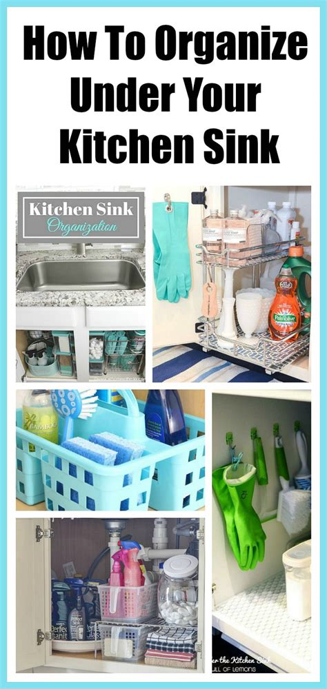 organizing the kitchen sink how to organize the kitchen sink