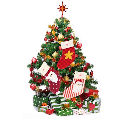 mini tree decorating ideas new style mini santa socks ornament pack