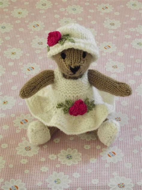 tiny teddy knitting patterns 1000 images about knitted teddy bears on toys