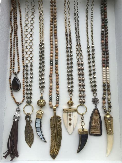 how to make bohemian jewelry jewelry bohemian necklaces designs pictures hijabiworld