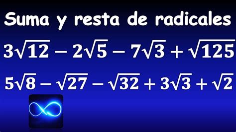 resta de raices cuadradas 52 suma y resta de ra 237 ces cuadradas simplificando ra 237 ces