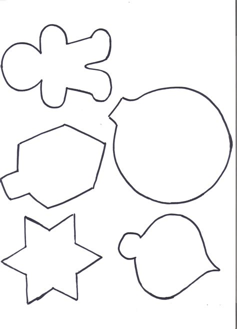 ornaments cut outs best photos of cut outs ornaments printables