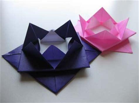origami lotus flower origami maniacs easy origami lotus flower