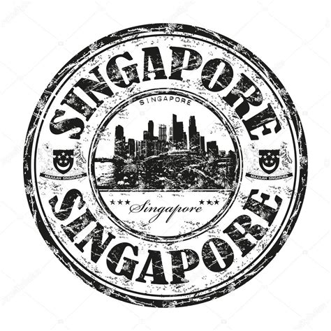custom rubber st singapore singapore grunge rubber st stock vector 169 oxlock