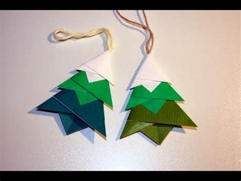 origami tree ornament origami maniacs tree ornament designed by toshie