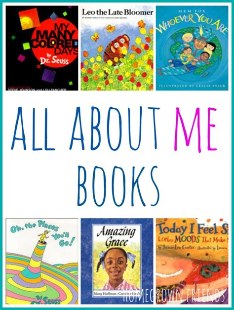 All About Me Books Homegrown Friends