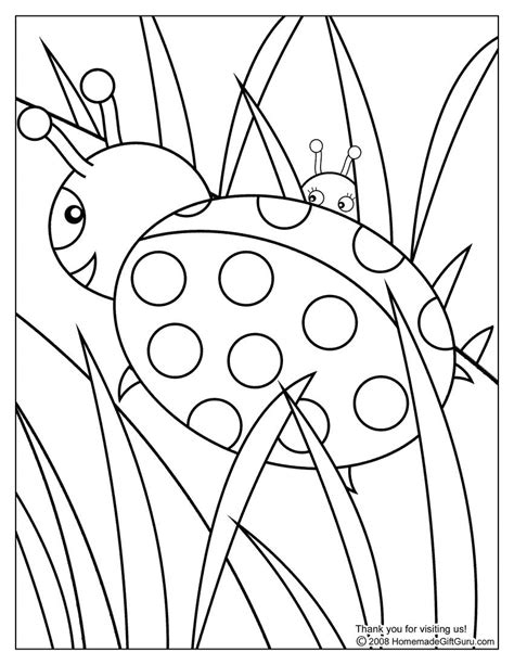 color book pictures oodles of doodles ladybug coloring pages