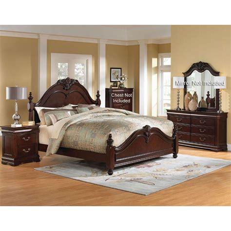 bedroom furniture bedroom furniture westchester 6 bedroom set