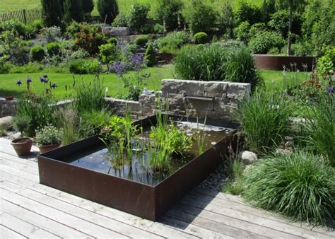 Der Garten Matthias Lutz by Terrassengestaltung Mit Wasserbecken