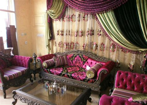 rideaux marocain salon d 233 co salon marocain