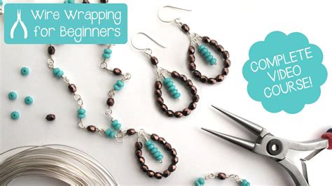 beginners jewelry jewelry wire wrapping for beginners class teaser