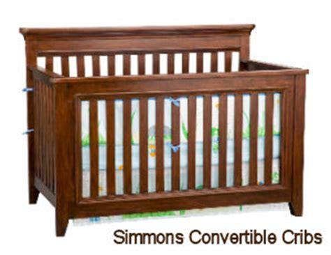 simmons baby crib replacement parts