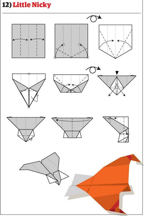 how to make origami airplane how to make 12 types of paper airplane