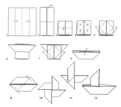 origami fishing boat 16 best images about paper boats on
