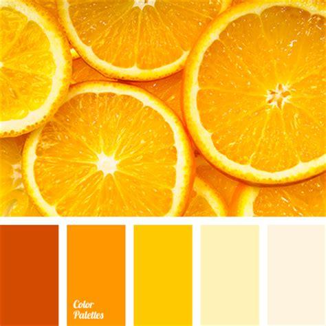 orange and color pale yellow color palette ideas