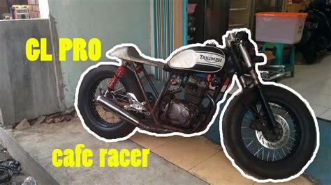 Cafe Racer Style Modifikasi by Top Modifikasi Motor Custom Terbaru Modifikasi Motor
