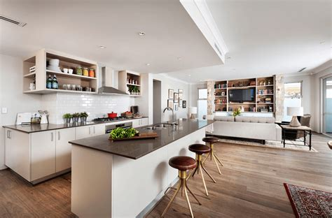 kitchen and living room floor plans arranging living room with open floor plans midcityeast