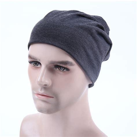 knit beanie mens plain beanie knit hat mens s winter warm cap slouchy