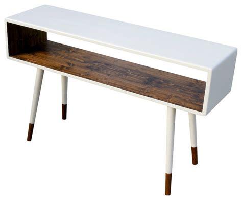 mid century modern sofa table midcentury sofa table dipped poplar wood by orwa designs