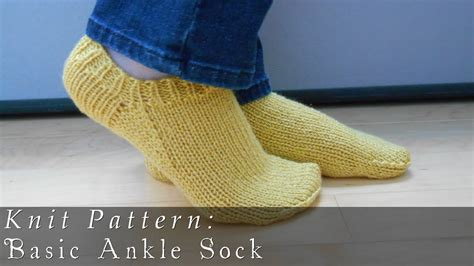 knitted ankle socks patterns free image gallery knitting socks