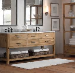 Storage Ideas For Tiny Bathrooms 34 rustic bathroom vanities and cabinets for a cozy touch