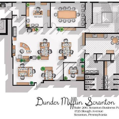 dunder mifflin floor plan 1000 ideas about office floor plan on office