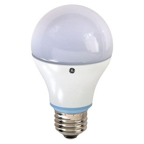 home depot led light bulbs ge 60w equivalent reveal 2850k a19 dimmable led light
