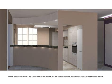 ouverture entre cuisine et salle a manger conceptions de maison blanzza