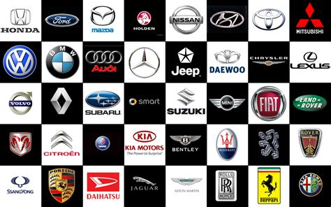 exotic car logos with names free large images