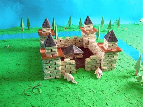 how to make a origami castle joost langeveld origami page
