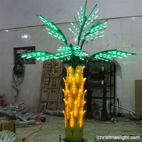 lighted trees for outside wholesale led lighted palm trees for outside ichristmaslight