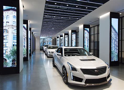 Cadillac Store by Cadillac Opens Concept Store In New York Calls It
