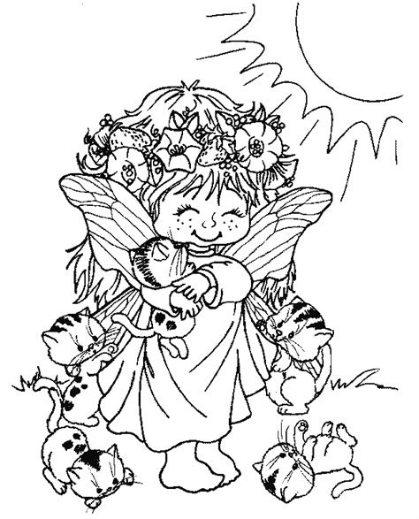 coloriage elfes page 06 224 colorier allofamille