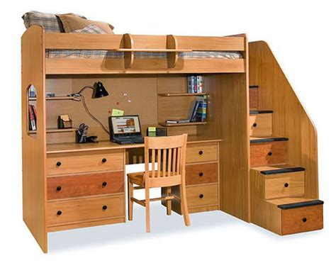 loft beds with desk and stairs berg furniture utica loft bed with stairs