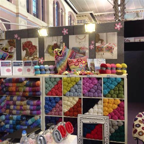 knit stitch show knitting stitching show ally pally inside crochet