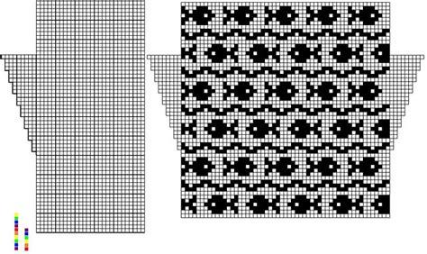 charting knitting patterns fish pattern knitting charts fair isles