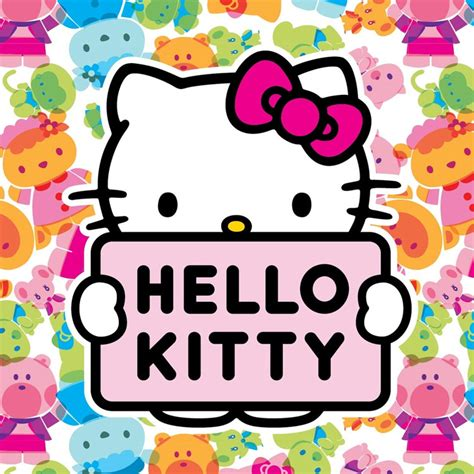 Hello Kitty Wall Murals deft design pink color hello kitty cat wallpaper 3d