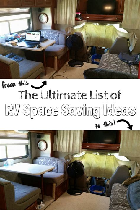 space saving ideas rv storage ideas 100 rv space saving ideas to organize