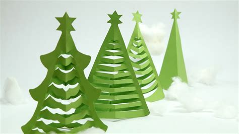 papier weihnachtsbaum how to make tree in 5 min at home with origami