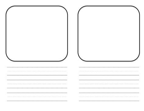 picture book template mini book template free center idea