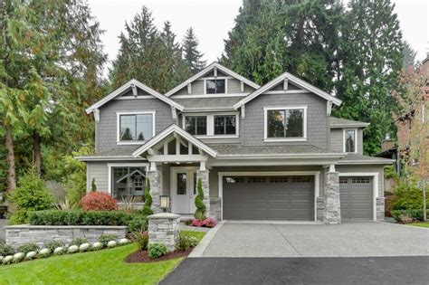 traditional craftsman homes traditional exterior of home in bellevue wa zillow digs