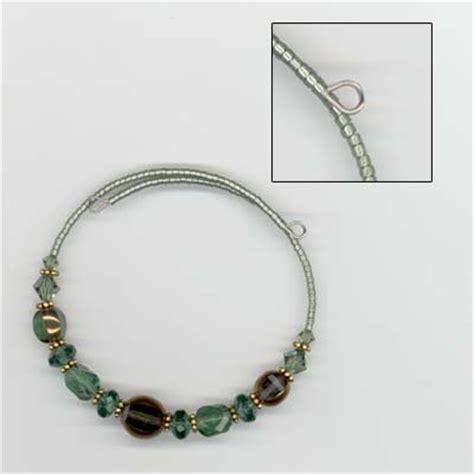 all free jewelry easy memory wire bracelet allfreejewelrymaking