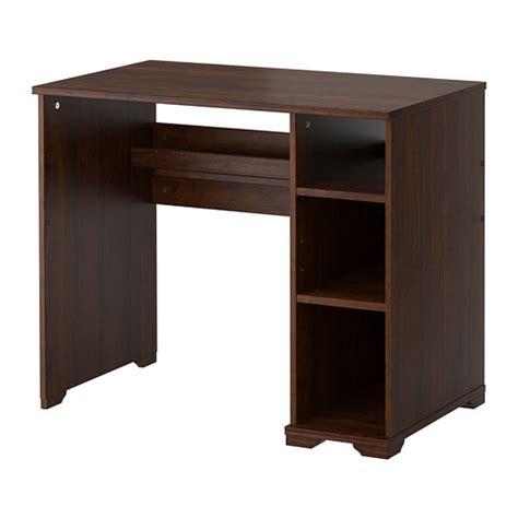 ikea borgsjo corner desk borgsj 214 desk brown ikea